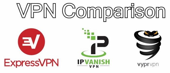 IPVanish vs VyprVPN vs ExpressVPN