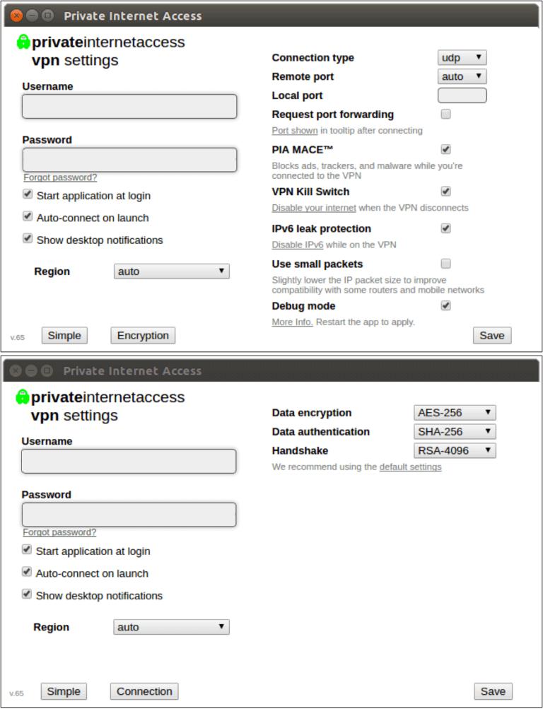Linux VPN PIA