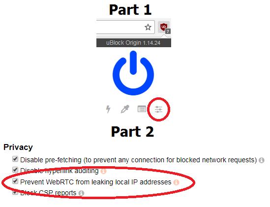 prevent webrtc leak